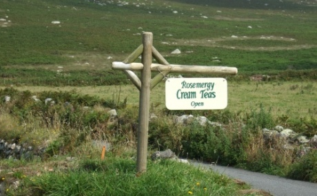 Rosemergy Cream Tea Sign!
